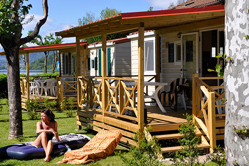 Case Mobili Prezzi : Camping punta lago prezzi case mobili lago di caldonazzo